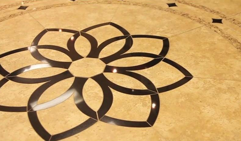 5 New Trends In Tile Installation Mosaics Inlays Grout And More