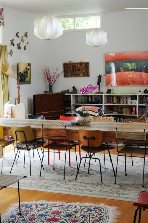 eclectic-dining-room