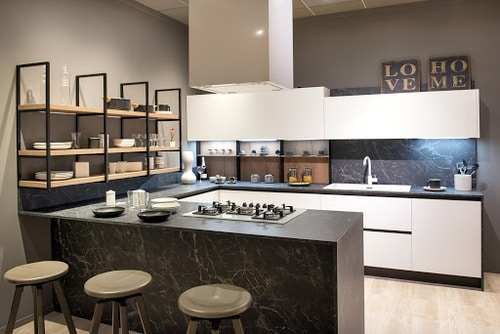 Modern eat-in kitchens